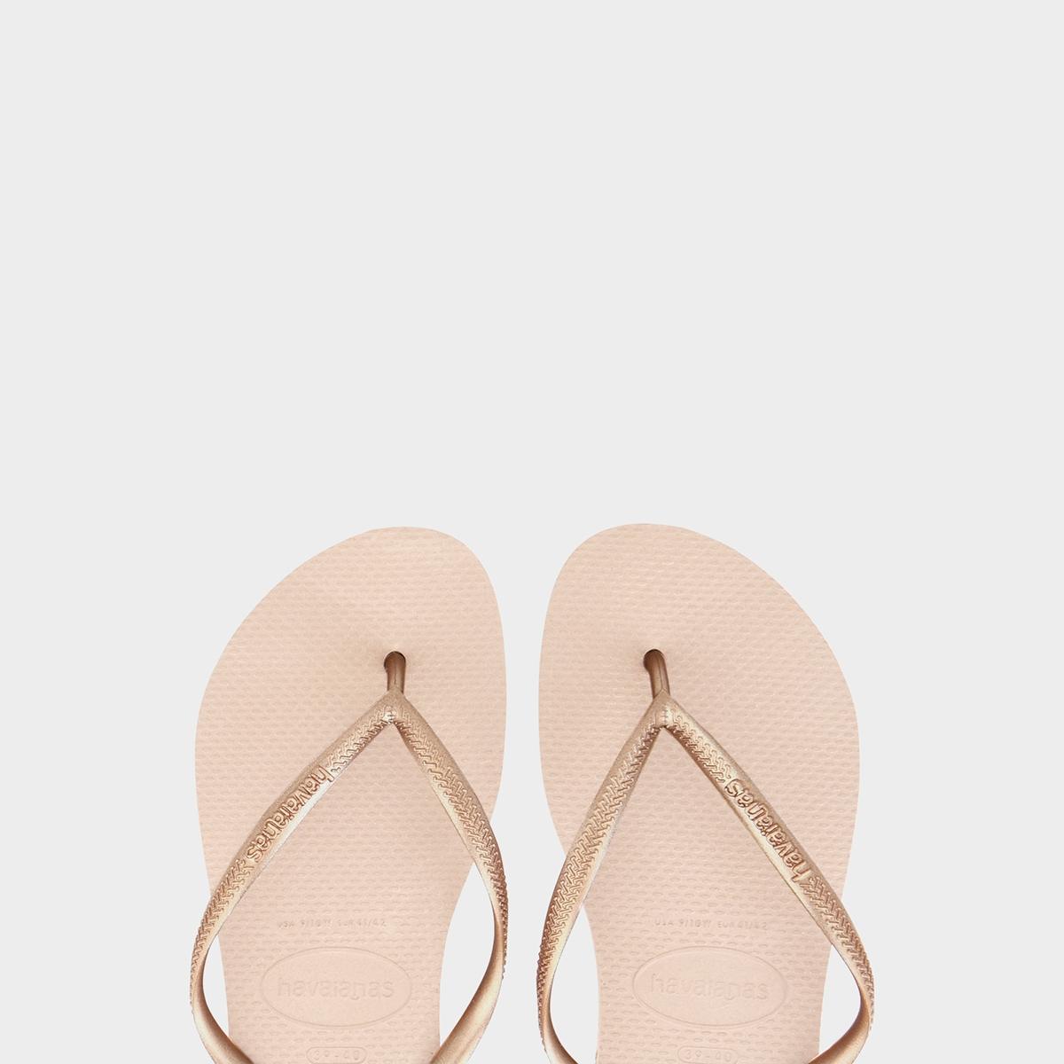 Havaianas Slim Sandals Pink Gold