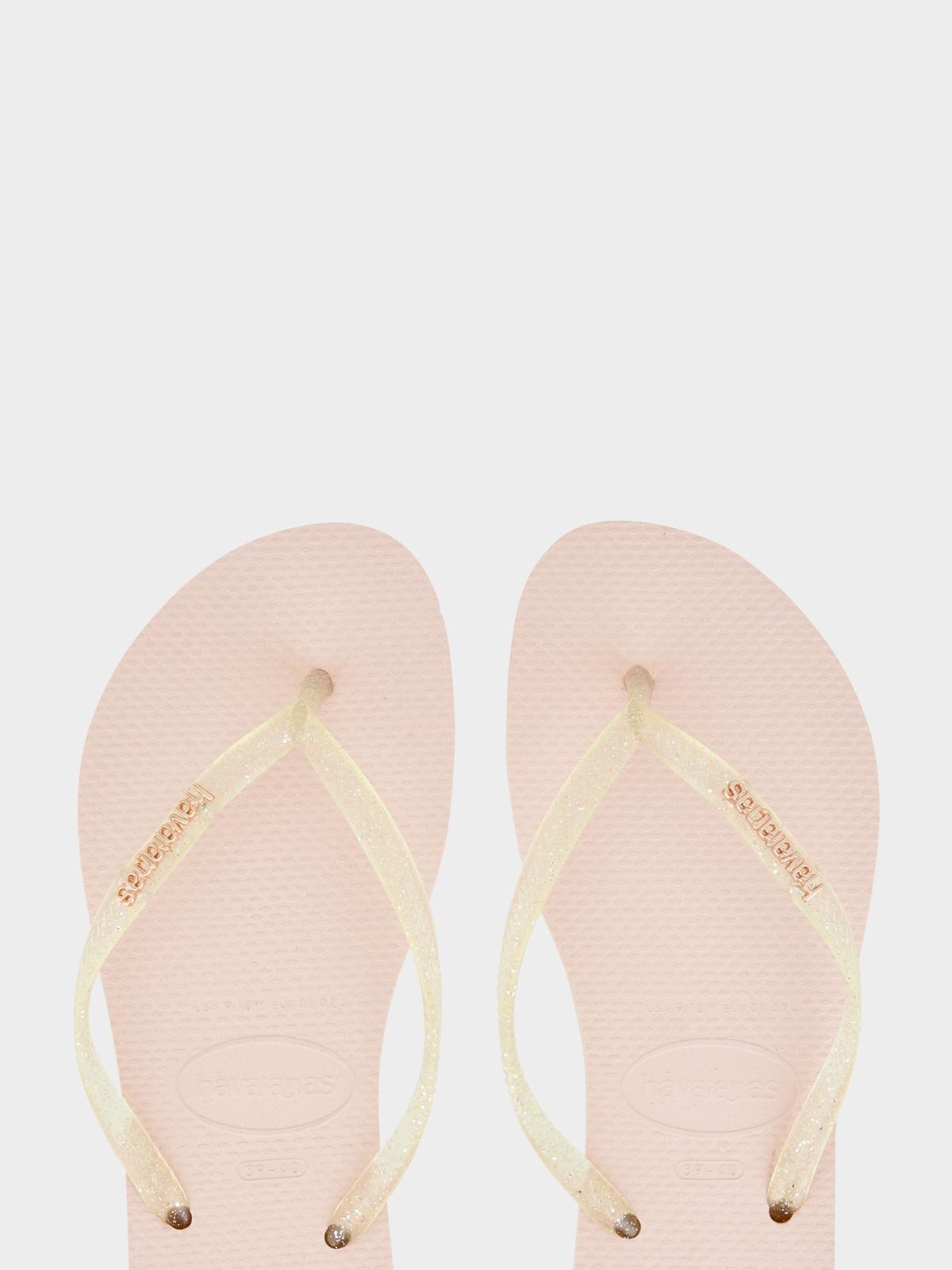 Havaianas Slim Animal Print Sandals Rose