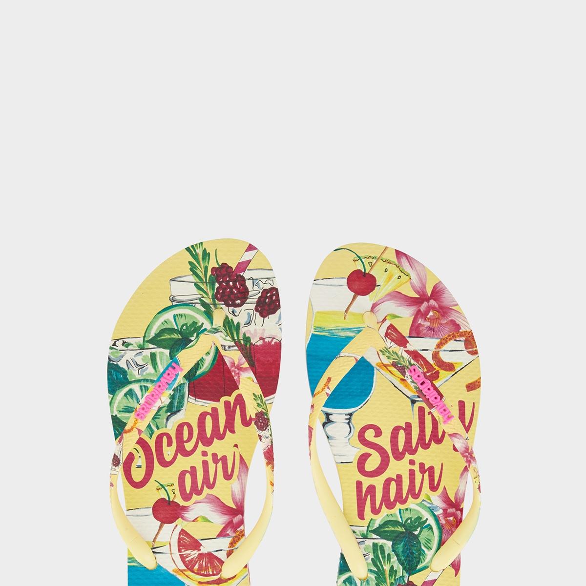 Havaianas Slim Summer Sandals Yellow