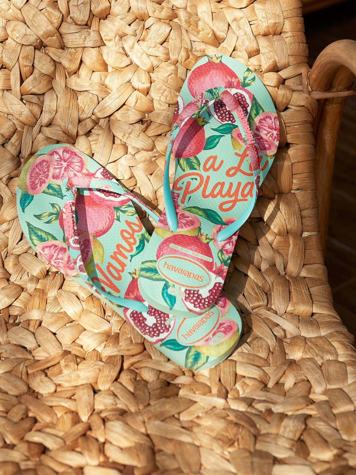 Havaianas Slim Summer Sandals Green