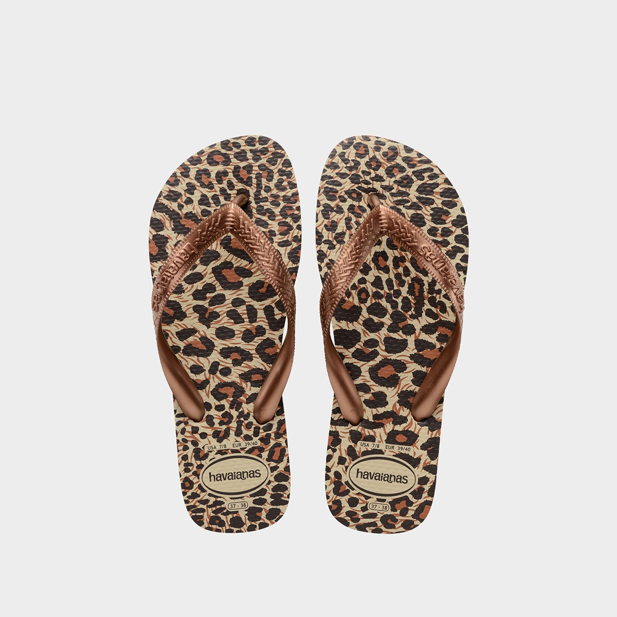 Havaianas Top Animals Sandals Print