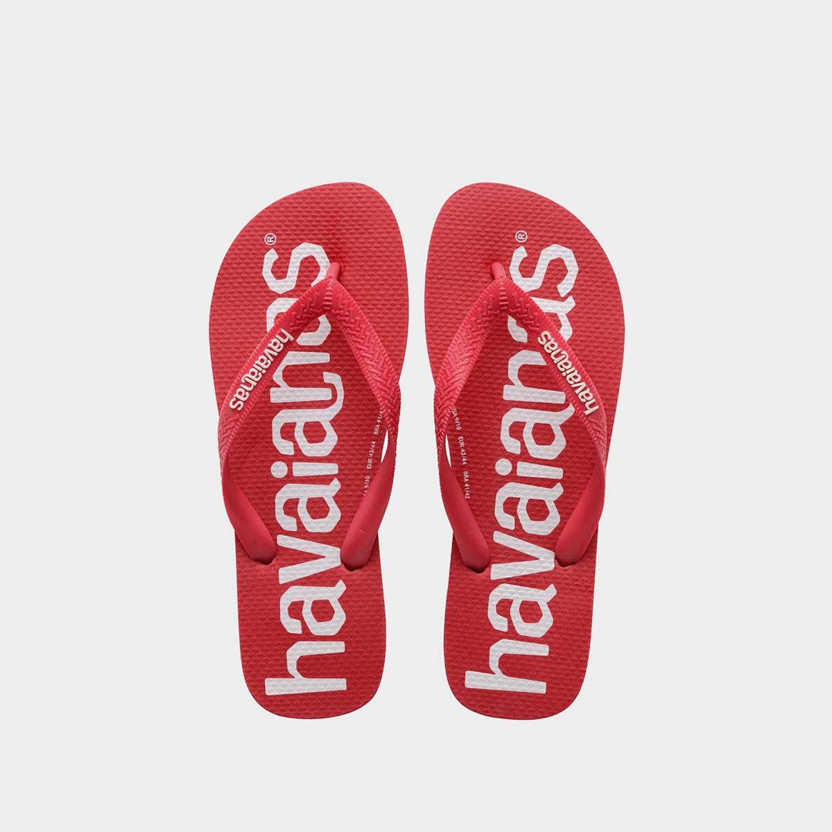 Havaianas Top Logo Mania Sandals Red