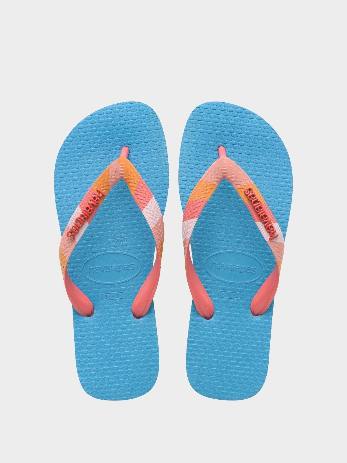 Havaianas Top Logo Metallic Sandals Black
