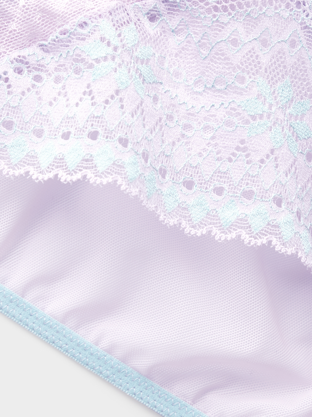 Boudoir by Disaya Midnight Lace Bikini Purple