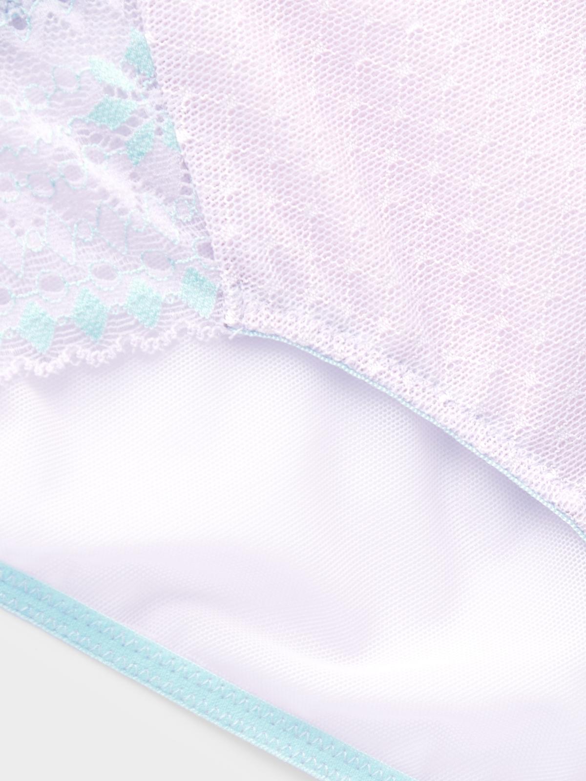 Boudoir by Disaya Love Floral Lace Bikini Purple