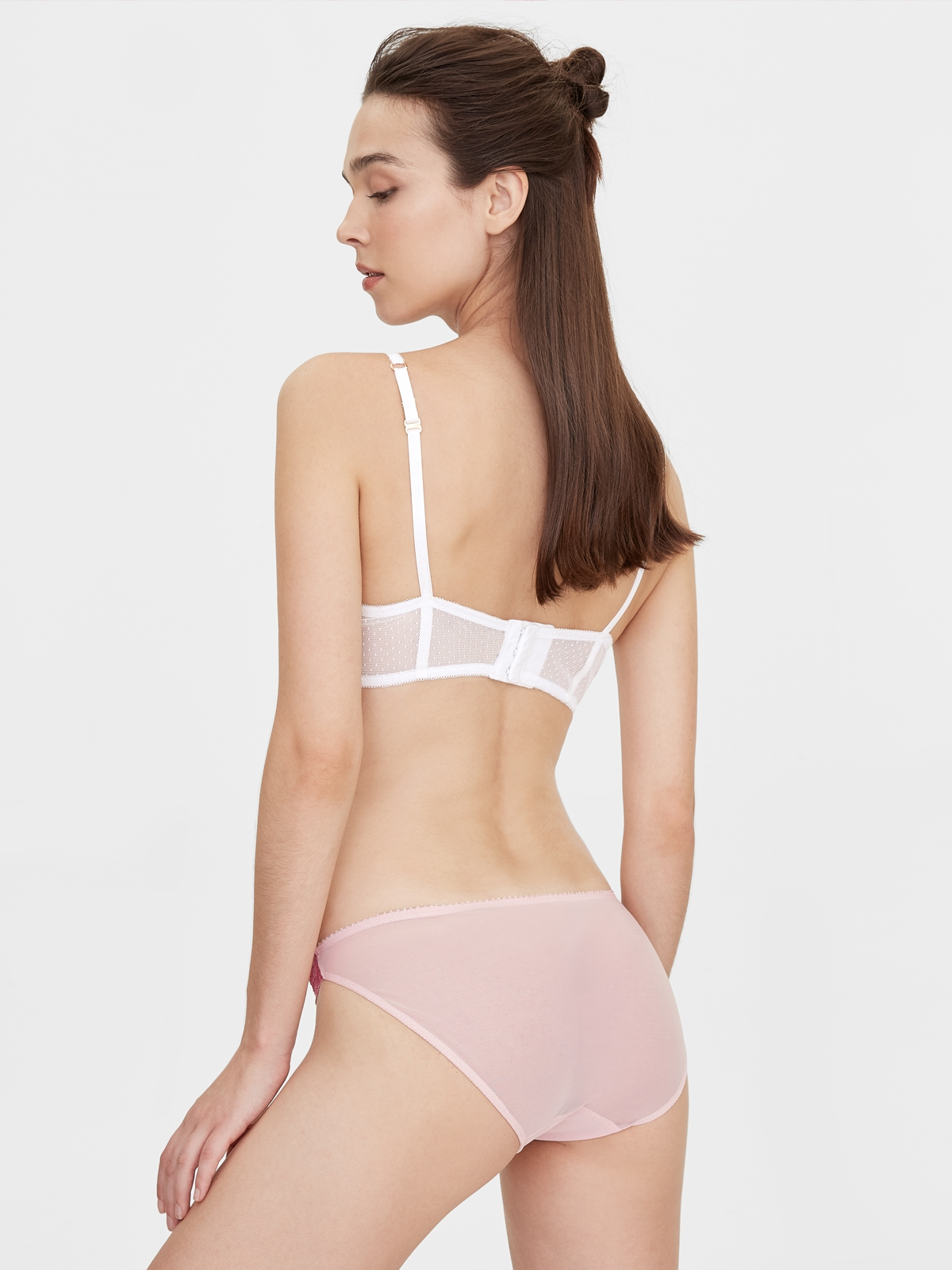 Boudoir By Disaya Wine Lace Bikini Panty Red