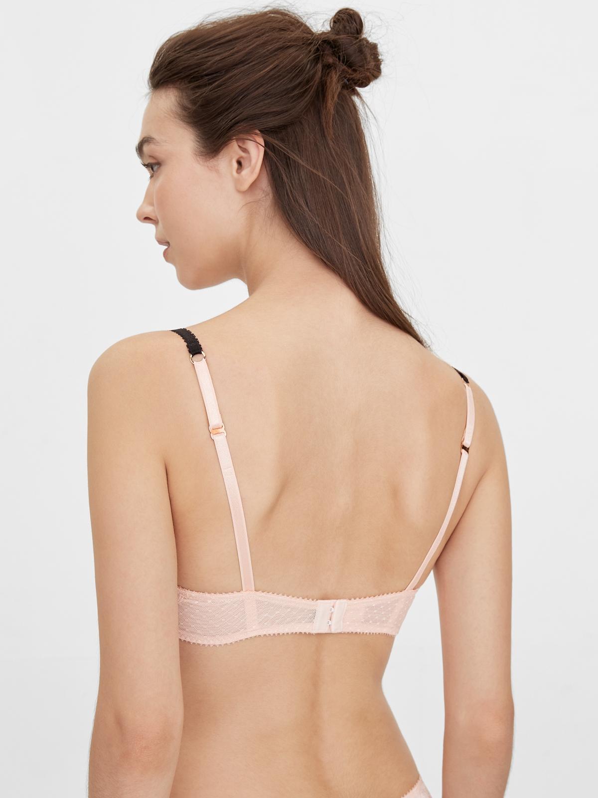 Boudoir By Disaya Juliette Premium Lace Mold Bra Nude