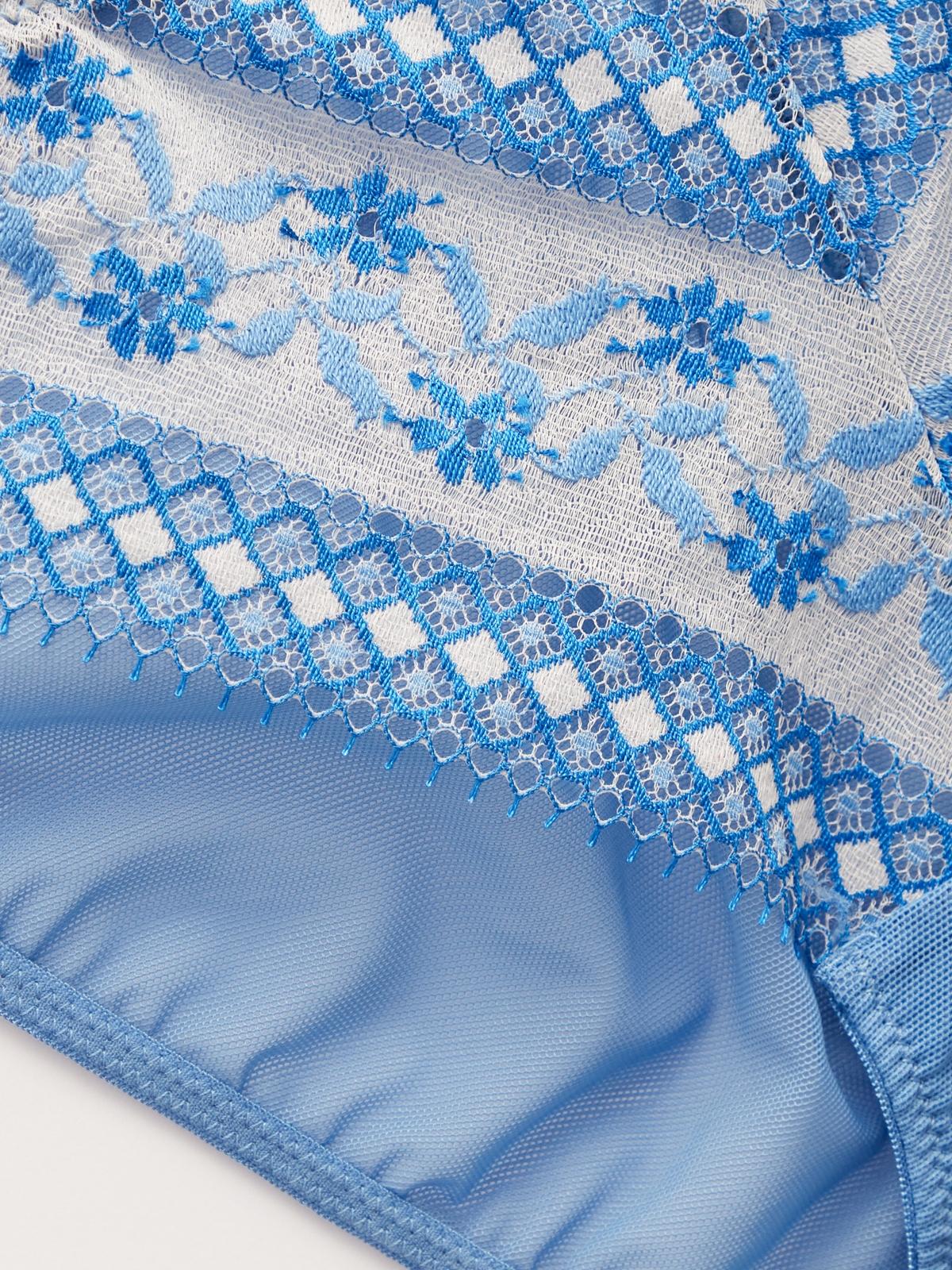 Boudoir By Disaya Bikini Panty Blue