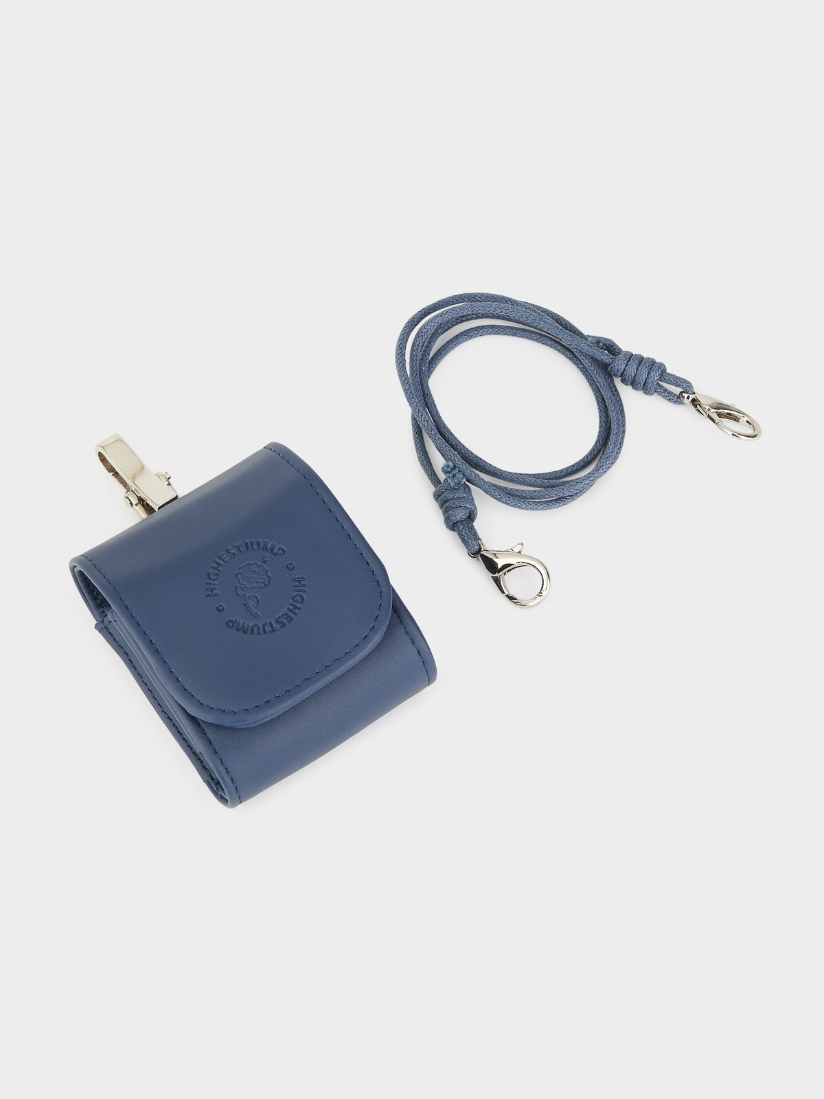 House of High Pluto Airpods Bag Navy
