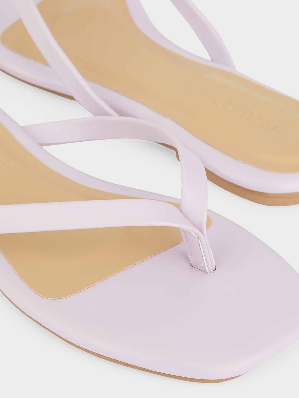 The Parsley Market Bare Sandals Lavender