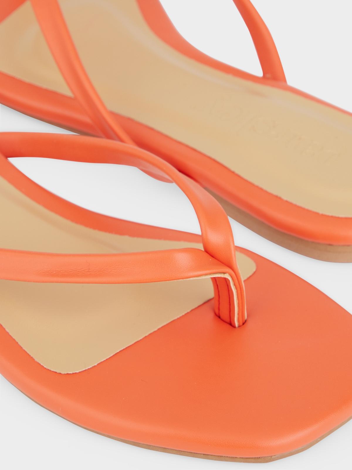 The Parsley Market Bare Sandals Orange