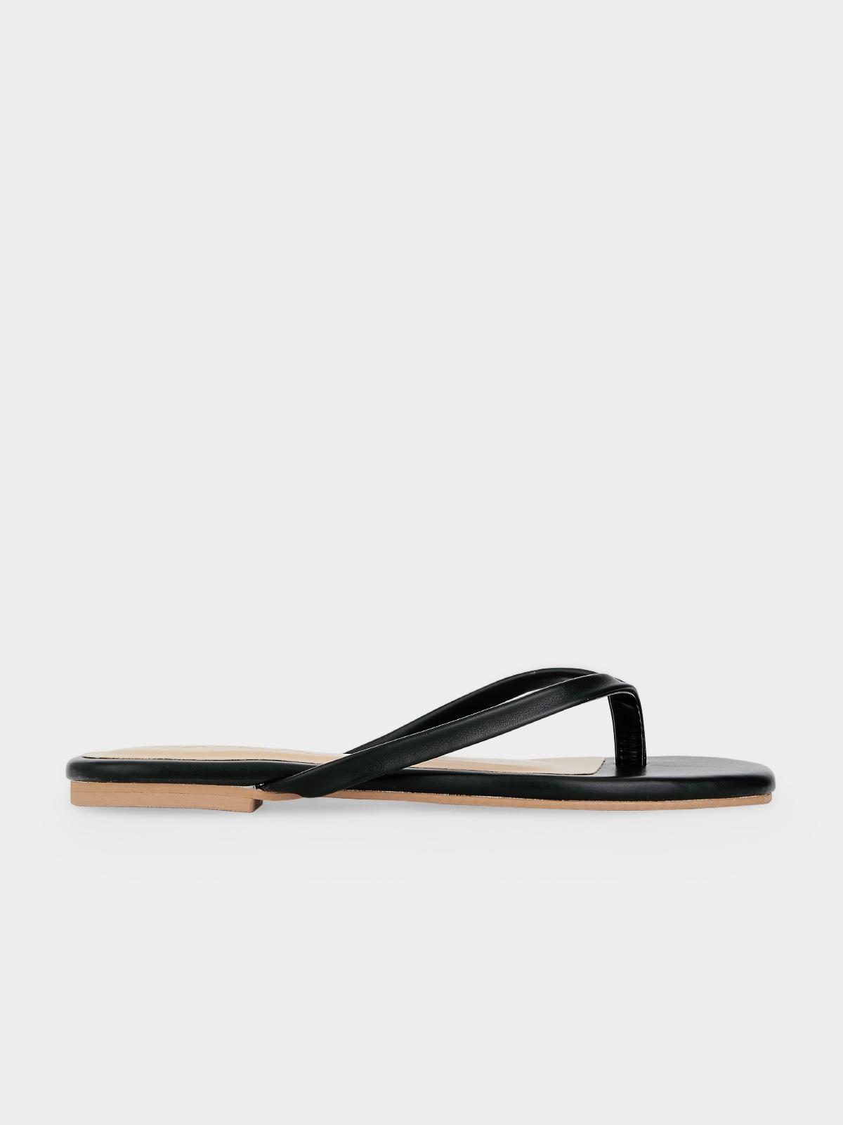 The Parsley Market Bare Sandals Black
