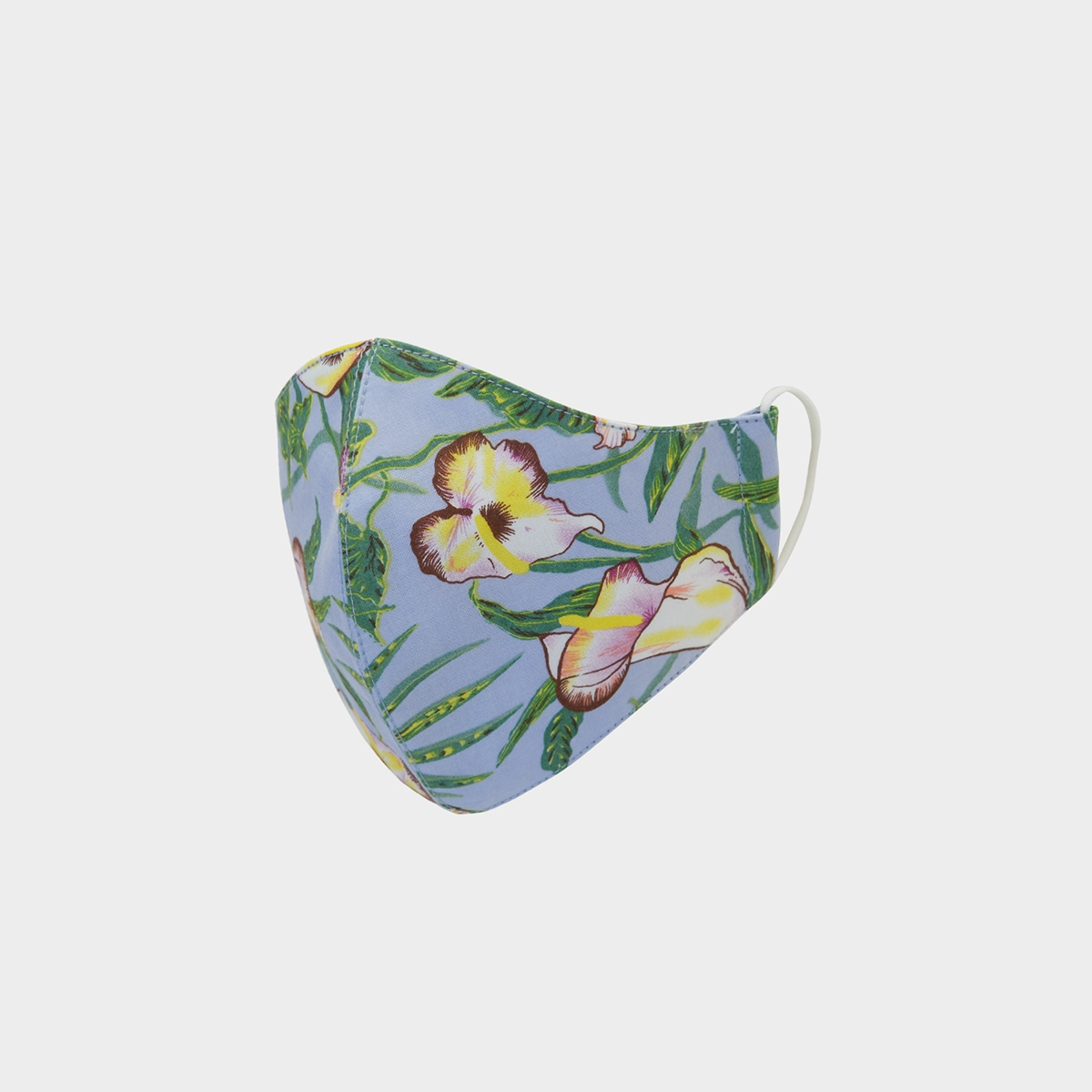 People Triple Defense Layer Mask Orchid Blue