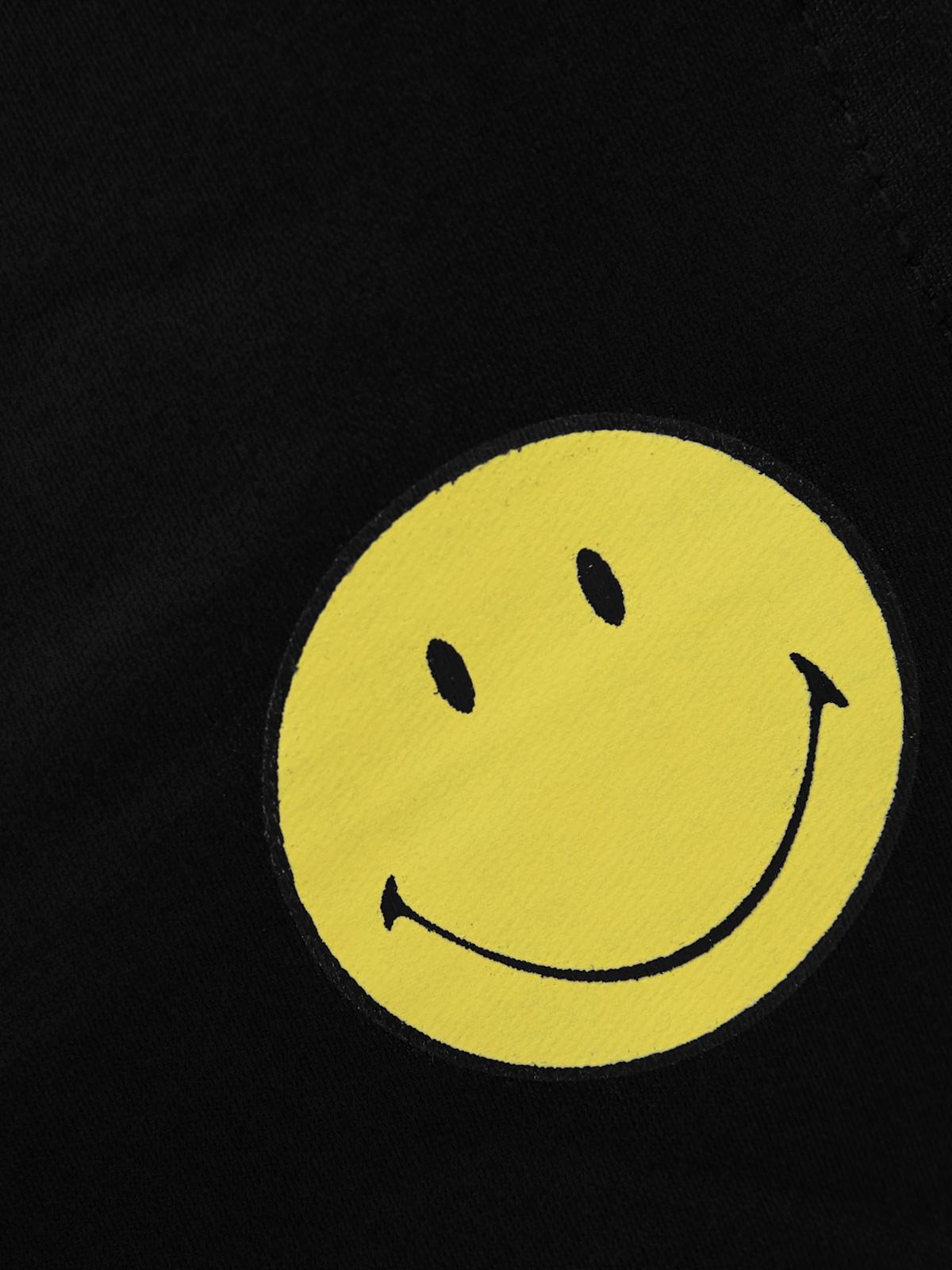 Pomelo X Smiley Smile Face Mask Black