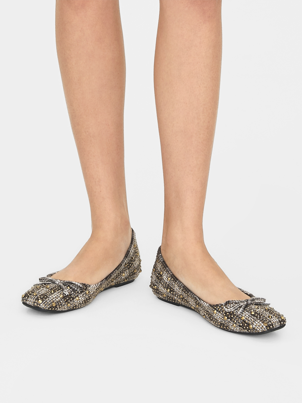 March Shoes Scotchy Flats Gold