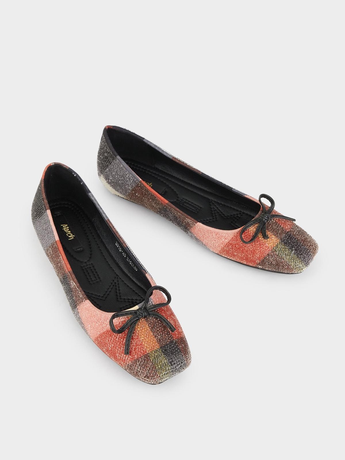March Shoes Scotchy Flats Multi Color