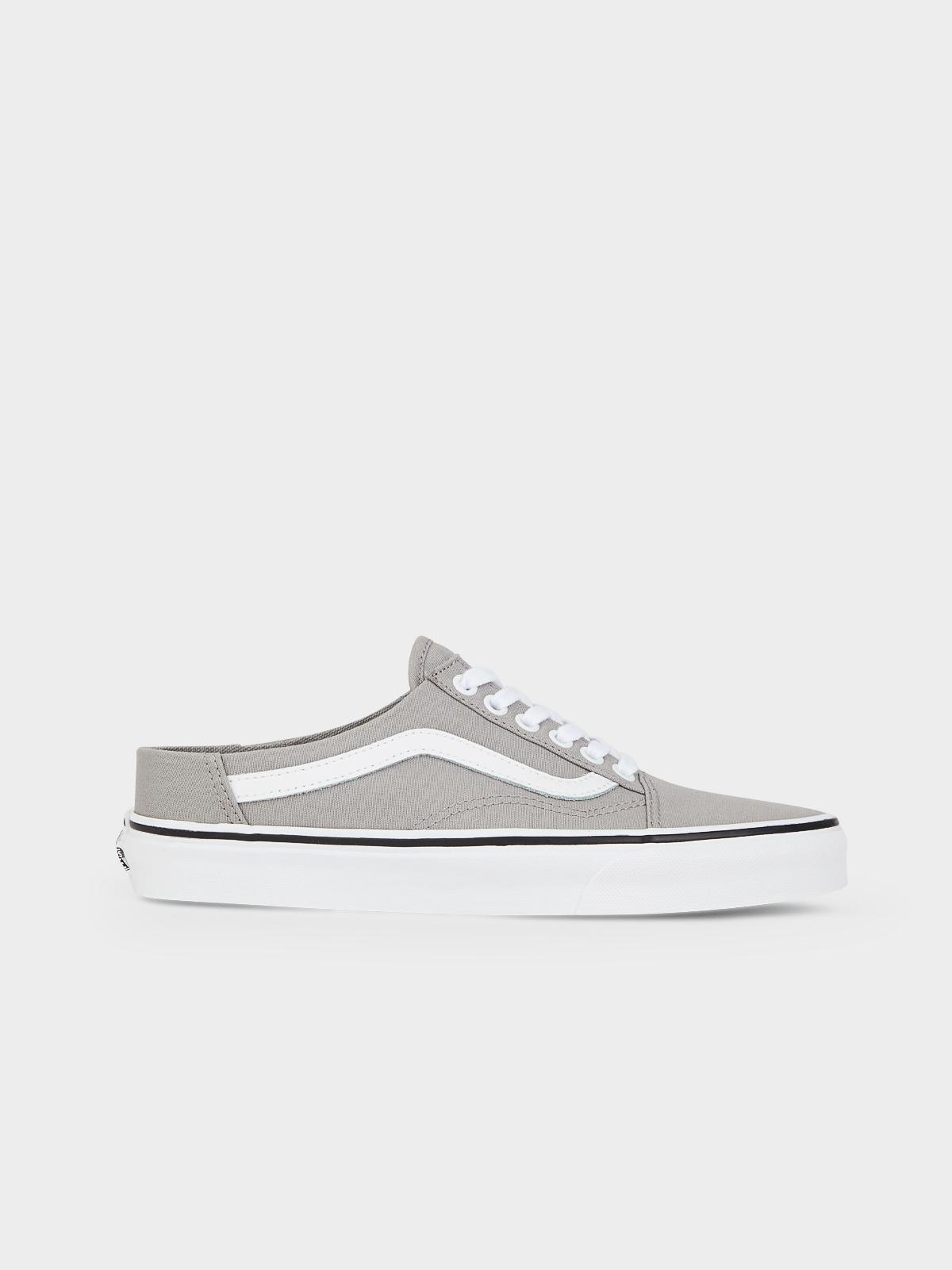 Vans Old Skool Mule Sneakers GreyWhite