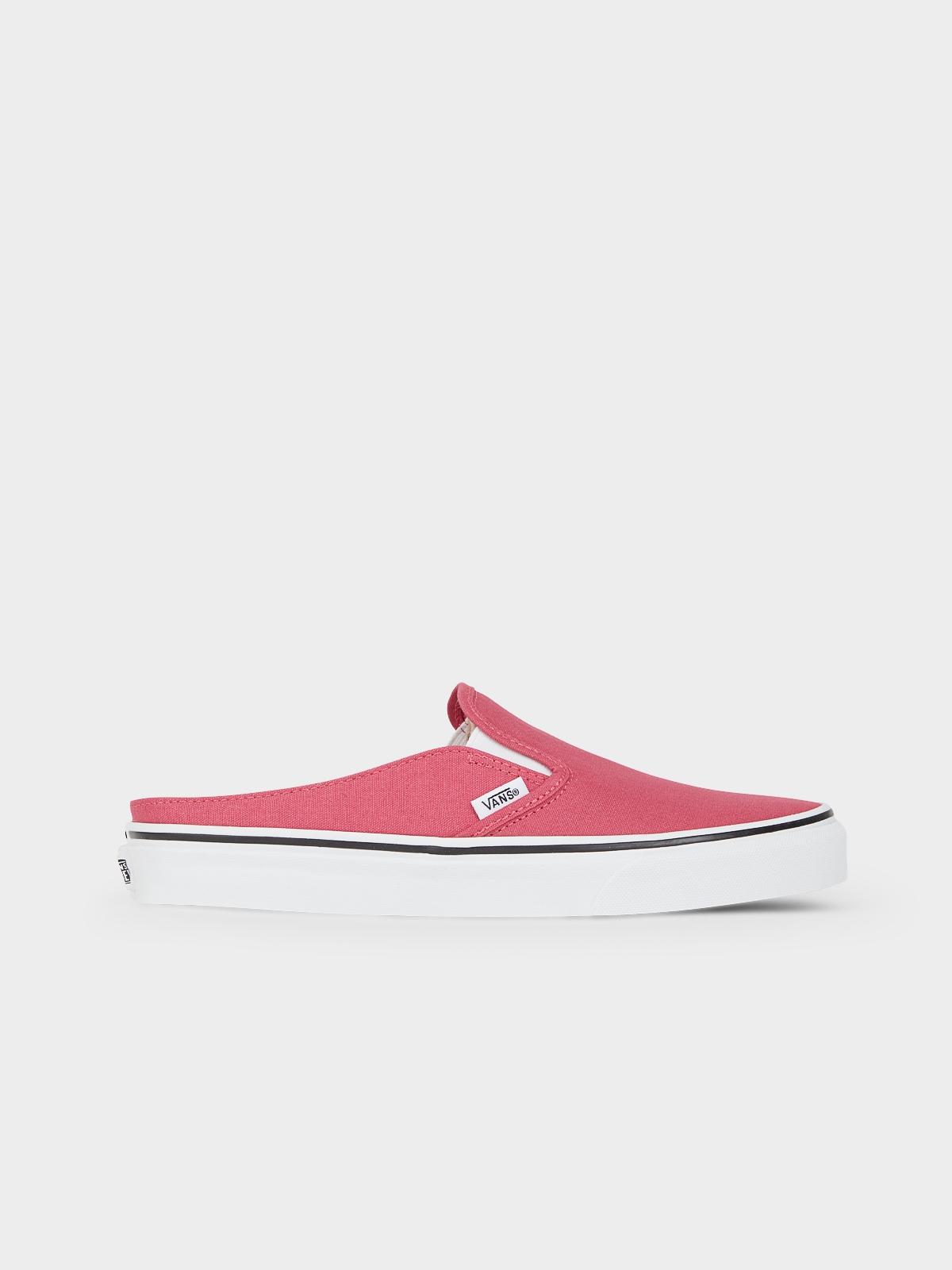 Vans Classic Slip On Mule Red