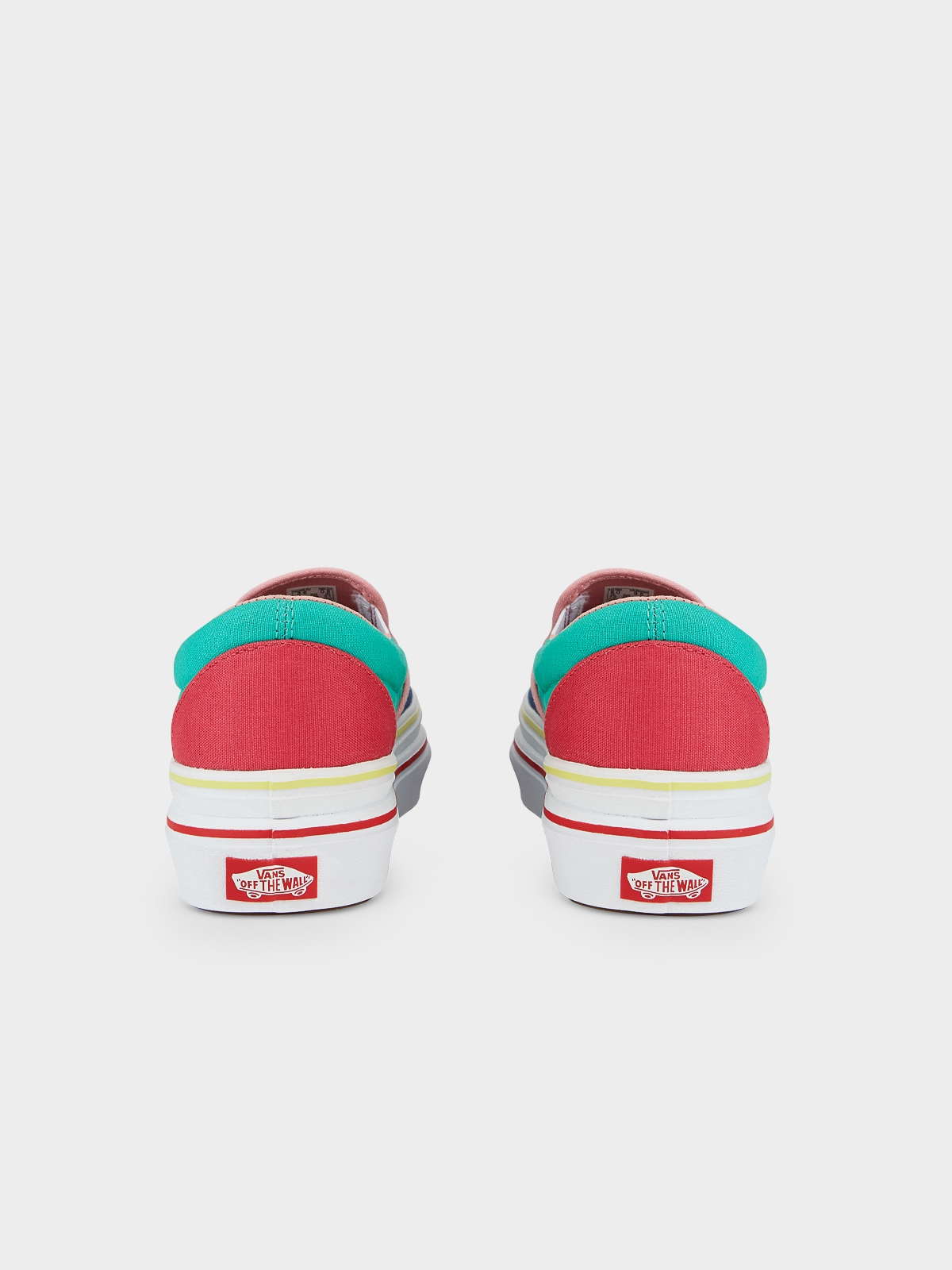 Vans Super ComfyCush Slip On Sneakers Multi Color
