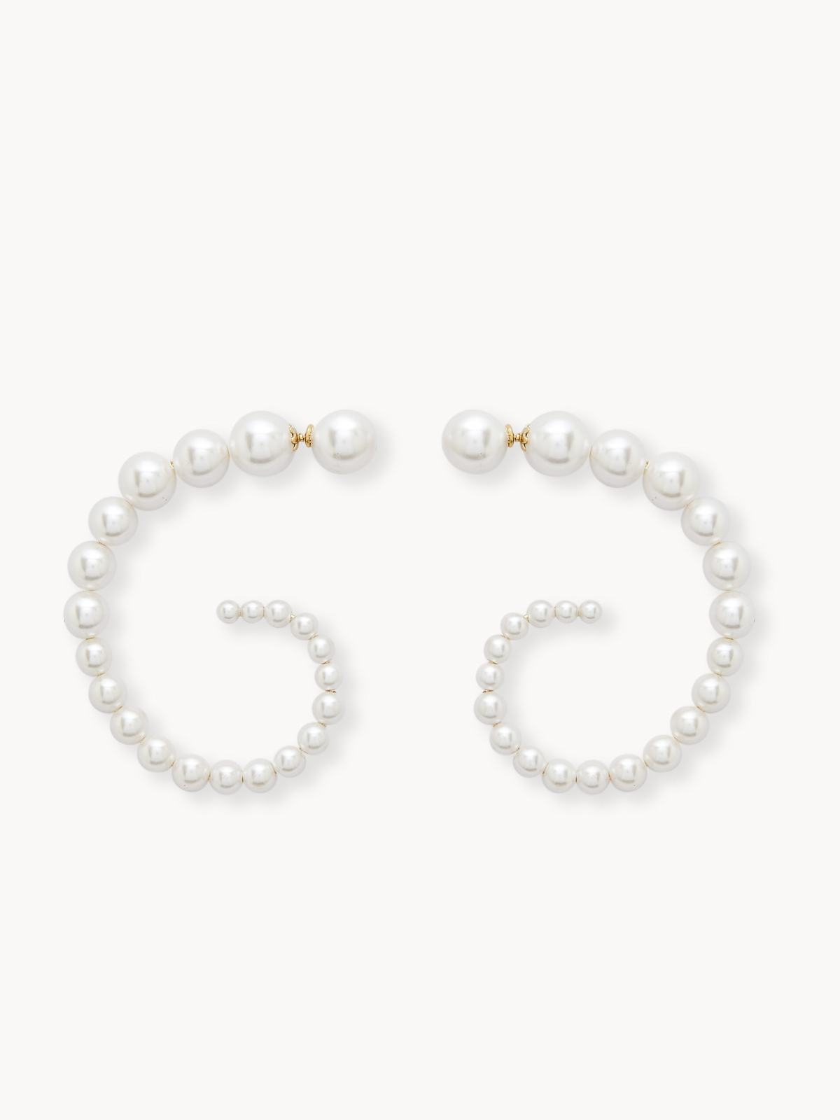 Premium Abstract Faux Pearl Earrings