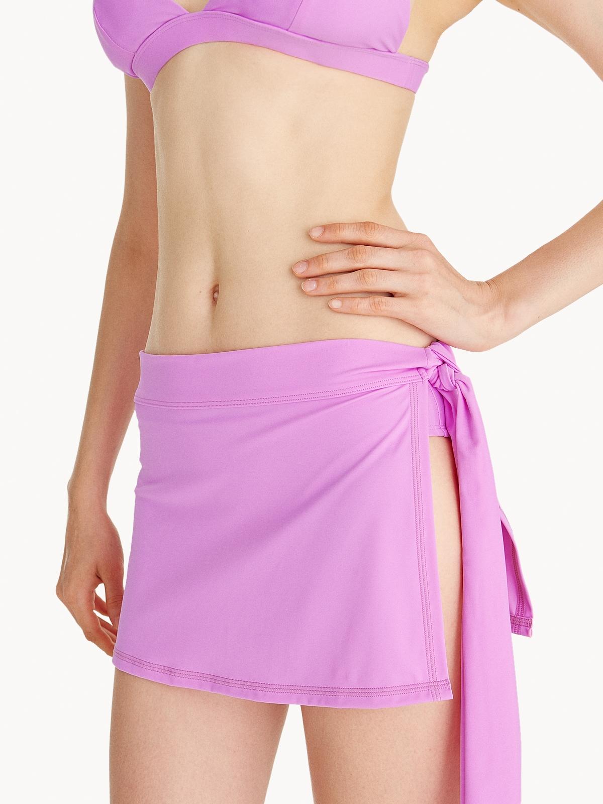 Swim Cover Up Skirt Lilac